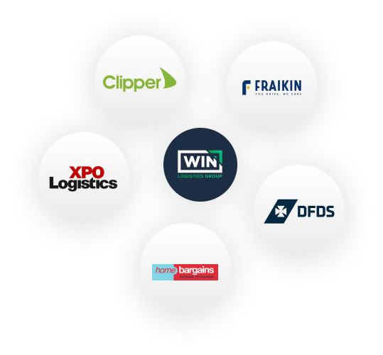 Brands WIN Logistics are working with