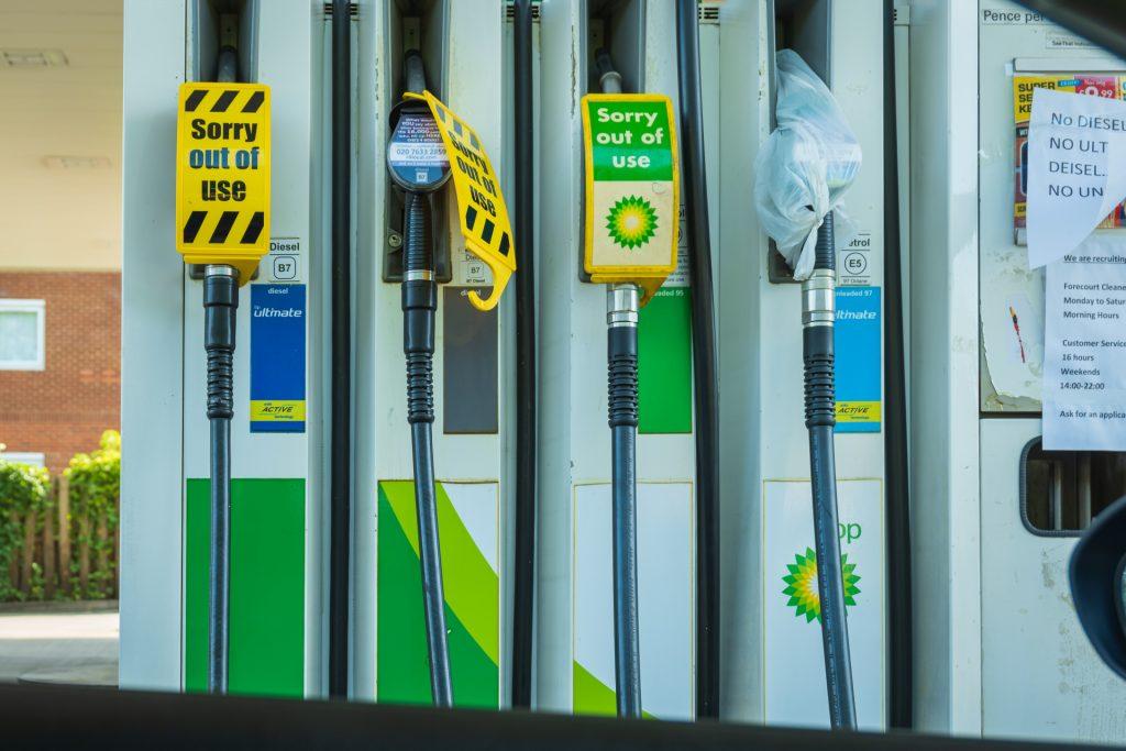 UK petrol shortages 2021